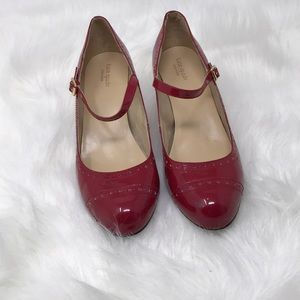 Women's  Kate Spade Red  Patent Mary Jane 10M